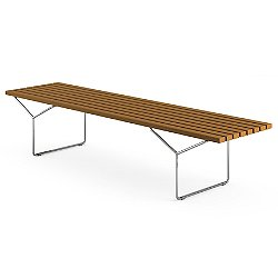 Bertoia Bench, Outdoor