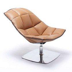 Jehs + Laub Pedestal Lounge, Articulating Back