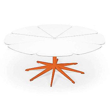 Shown in White High Density Polyurethane, Orange