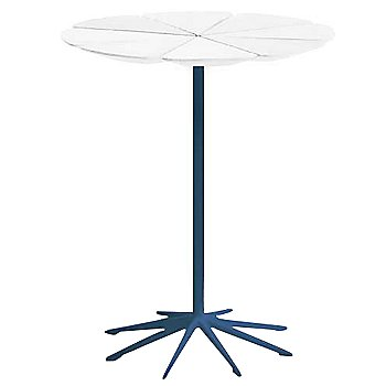 Shown in White High Density Polyurethane top with Blue Base
