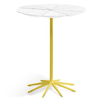 Shown in White High Density Polyurethane top with Yellow Base