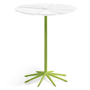 Shown in White High Density Polyurethane top with Lime Green base