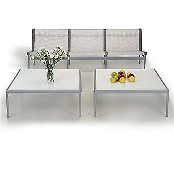 Shown in Grey Tone fabric with Silver frame