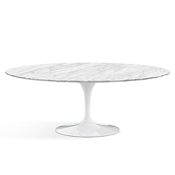 Shown in Carrera White-Grey Natural Marble finish with White base finish, 78-Inch