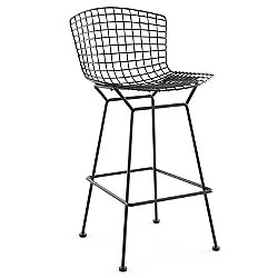 Unupholstered Bertoia Barstool, Outdoor