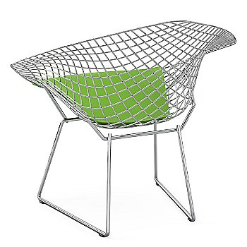 Shown in Vinyl: Lime with Polished Chrome frame finish