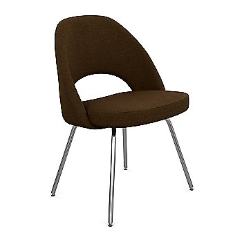 Shown in Volo Leather: Flint Fabric Color, Polished Chrome Finish