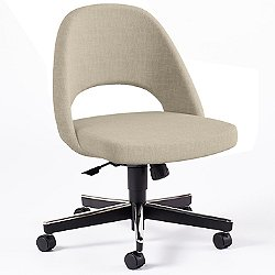 Saarinen Executive Side Chair with Swivel Base