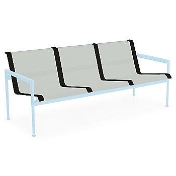 Grey Tone Fabric / Sky Blue Frame / Onyx Trim