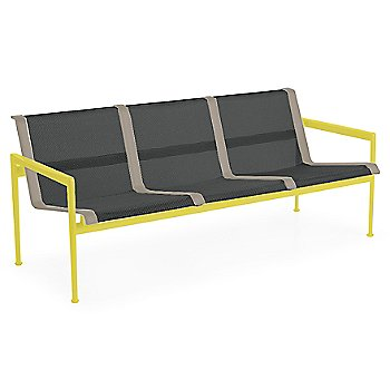 Onyx Fabric / Yellow Frame / Sand Trim