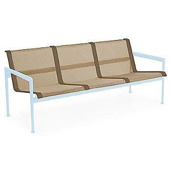 Bronze Fabric / Sky Blue Frame / Bronze Trim