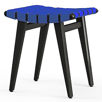Blueberry Cotton/ Nylon Webbing material with Ebonized Maple frame finish