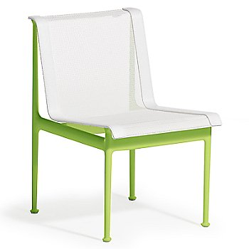 Shown in White with Lime Green frame