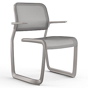Grey fabric / Metalic Silver frame