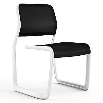 Black fabric / Warm White frame