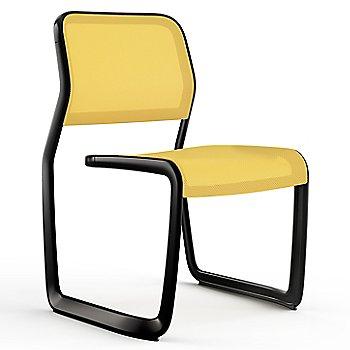 Yellow fabric / Black frame