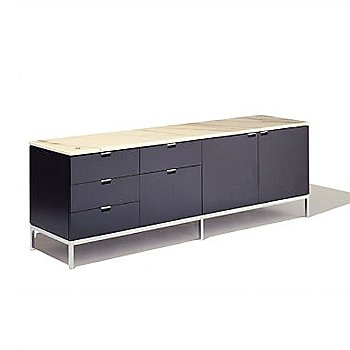 Florence Knoll Five-Drawer + Two-Door Credenza