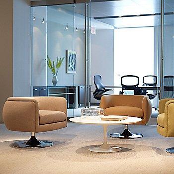 Joseph Paul D'Urso Swivel Lounge / in use