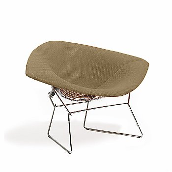 Large Diamond Lounge Chair, Fully Upholstered / in use