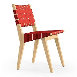 Risom Side Chair with Webbed Seat