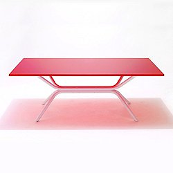 Ross Lovegrove Rectangular Table with Crossed Base