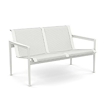 1966 Collection Twin Seat Lounge Chair with Arms