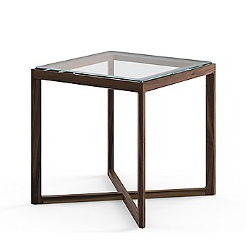 Krusin Square Side Table with Glass or Laminate Table Top