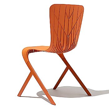 Front view of chair in Lime
