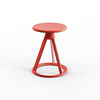 Red Coral seat with Red Coral base finish
