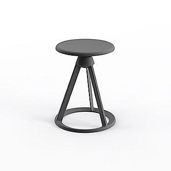 Medium Metallic Grey seat with Medium Metallic Grey base finish