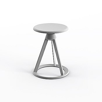 Sterling seat with Sterling base finish