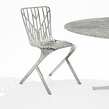 Washington Skeleton Plated Aluminum Chair, collection