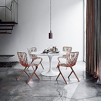 Shown with Saarinen Round Dining Table, in use