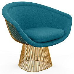 Platner Lounge Chair in Gold