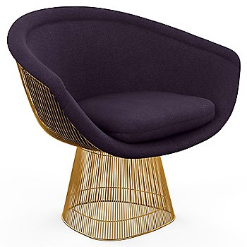 Back View with Knoll Velvet / Bayberry Upholstery