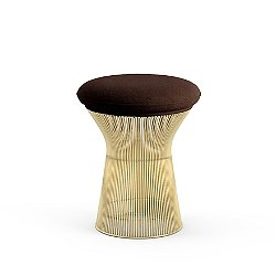 Platner Stool in Gold