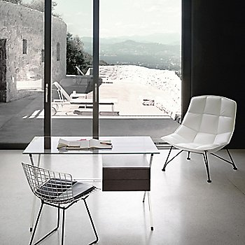 In Use with Albini Desk and Jehs + Laub Lounge Chair