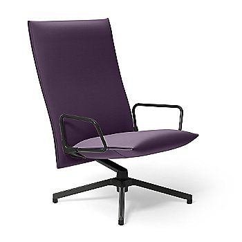 Pilot Swivel High Back Lounge, Loop Arms, in use