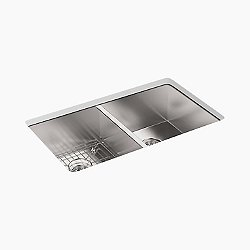Vault Double Undermount Sink