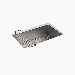 Strive Undermount Sink with Rack
