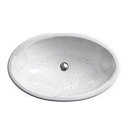 Empress Bouquet Design on Vintage Undermount Sink