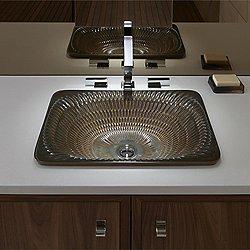 Derring Rectangular Bathroom Sink