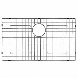 Bottom Sink Grid with Anti-Scratch Bumpers