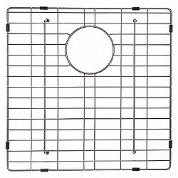 Bottom Square Sink Grid with Anti-Scratch Bumpers