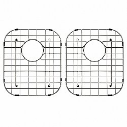 Stainless Steel Double Bottom Grid
