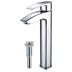 Visio Single Lever Faucet with Pop-Up Drain