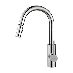 Mateo Single Lever Pull Down Kitchen Faucet