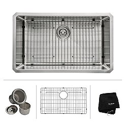 Undermount Single Bowl 16 Gauge Stainless Steel Kitchen Sink