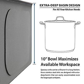 Extra-Deep Basin Design