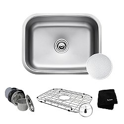 Outlast Microshield Single Bowl Undermount Kitchen Sink KBU12E